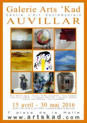 Affiche expo auvillars 2016