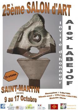 Affiche salon campagn art oct 2021
