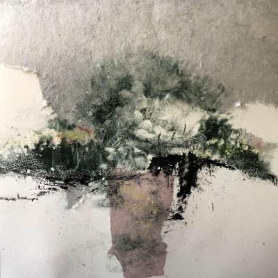 Jardin imaginaire 6 monotype 30x30 04 2021
