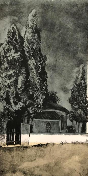 La chapelle de libou 25x50 12 2021